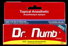 Dr.Numb (Epinephrine), Крем - анестетик, 30g